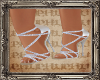 PHV White Cocktail Shoes