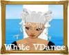 White VDance Hair