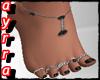 Ay_Black *Anklet*Rings