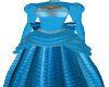 Victorian Blue Gown