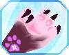 Pink Pads w/ Dark Claws