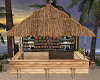 Beach bar pub at sea fun