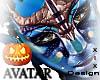-X- AVATAR HEAD MESH (F)