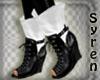 Boots Black n White