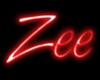 Zee- Neon Sign