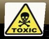 Toxic Card Cutout