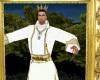 quadro oro re giorgio