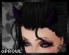 P  Purple Horns