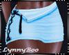 *Keely Aqua Skirt