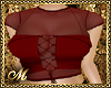 FALL CORSET RED
