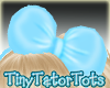 Kids Blue Hair Bow