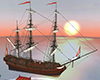 weddind pirate ship