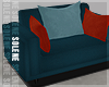 s | Teal Living Chair