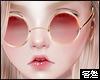 害羞. Vintage Glasses