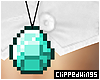 *CW Minecraft Necklace