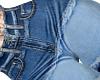 Patched Jeans L