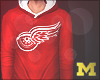 M.Red Wings Hoodie