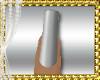 D3~Silver Mat Nails