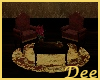 Victorian Couch Set