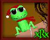 Christmas Frog Pet