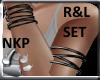 Multi Armbands R&L set