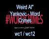 weird al yankwick wordcr