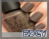 !E!OPI Brown Grey Nails