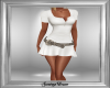 Creme Belt Dress
