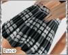 {!} Plaid Pleated Skirt