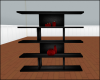 Black Red Shelf