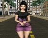 Short Denim Skirt n Top