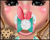 >Girl Easter Bunny Paci