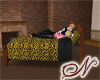 Leopard Romantic Bed