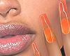 I│Jelly Nails Orange