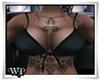 P5* Black Top*Tattoo Jou