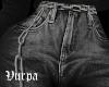 Boyfriend's jeans.