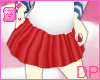 [DP] School Skirt Red