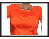 {G} Peach Heart Top
