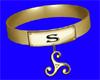 """""""S"""" Golden Collar"""