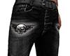 Skull Black Jeans (M)