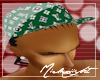 LV Hat Green