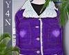 [Y4N] Heart purple jacke
