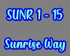 Sunrise Way /SUNR 1-14