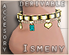[Is] Jewels Anklet -R-