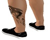 leg snake tattoo [dl]
