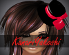xKyx Red Bow Hat