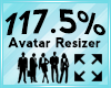 Avatar Scaler 117.5%