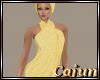 Yellow Terry Spa Wrap