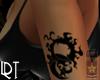 Moon&Stars Tattoo Left