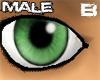 [B] Frog Green eyes